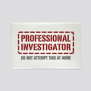 Professional Investigator Rectangle Magnet